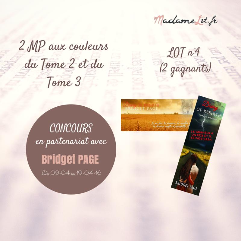 concours en partenariat avec bridget page lot 4 madame lit. Black Bedroom Furniture Sets. Home Design Ideas