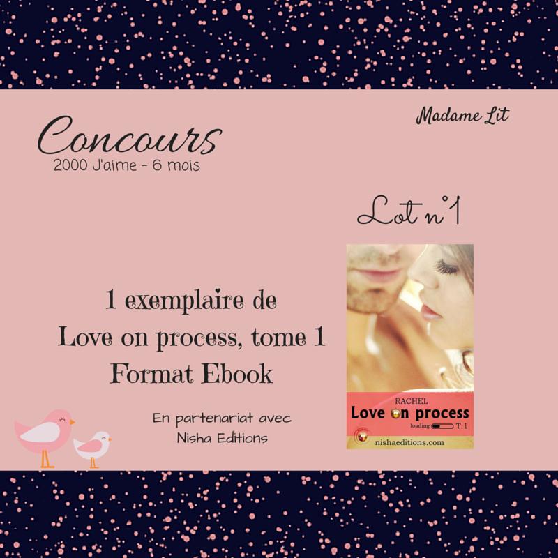 Concours 2000 J'aime - 6 mois : Lot n°1