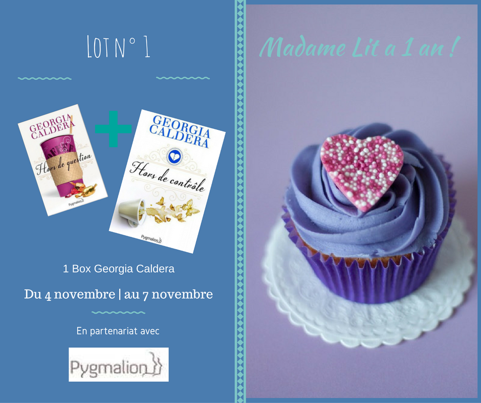 Concours anniversaire 1 an : Lot N° 1