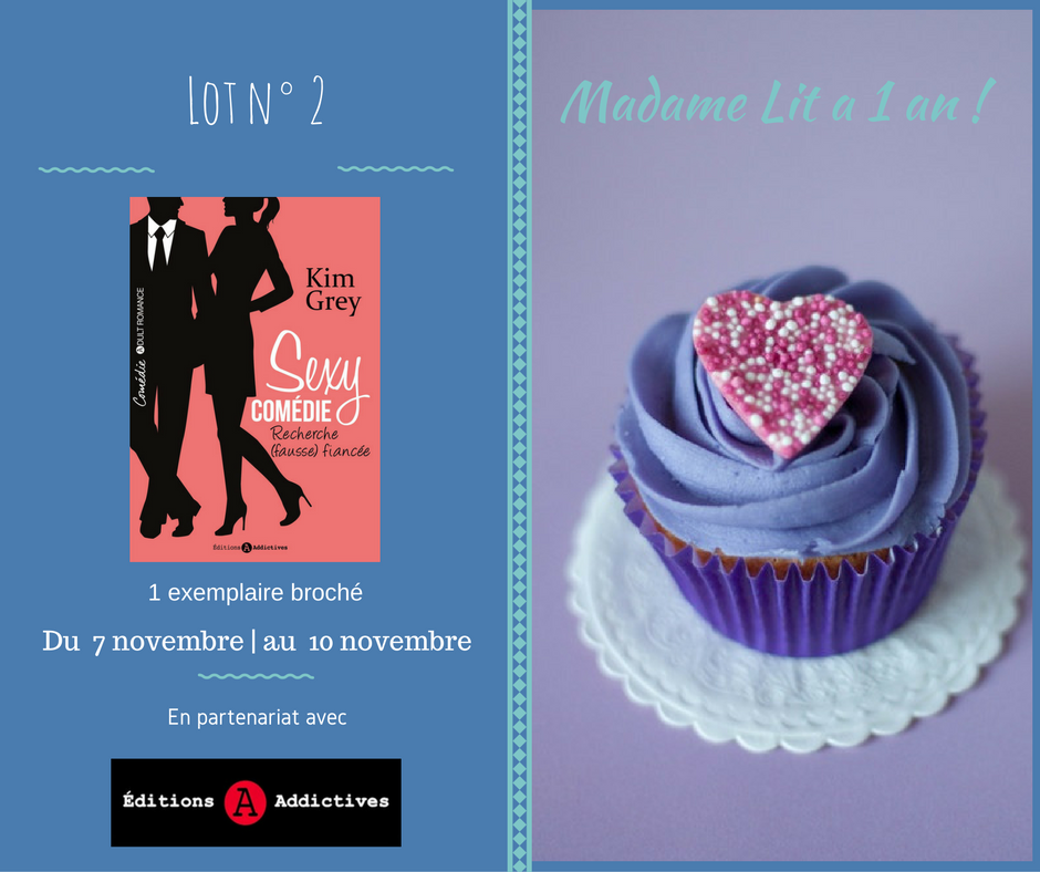 Concours anniversaire 1 an : Lot N° 2