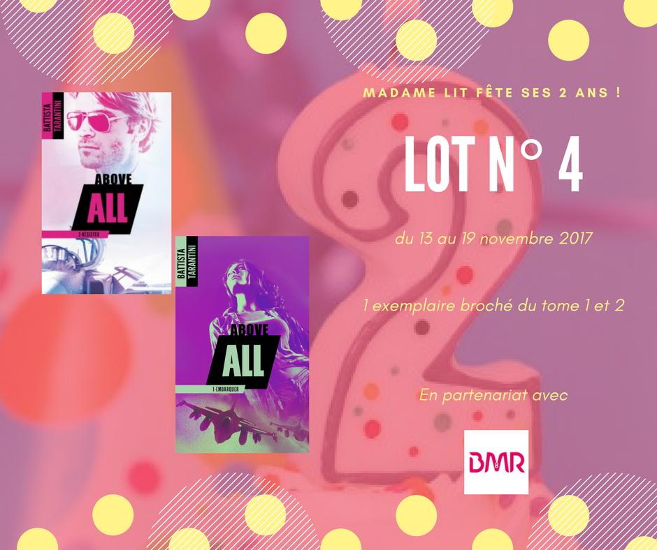Concours anniversaire 2 ans : Lot N° 4