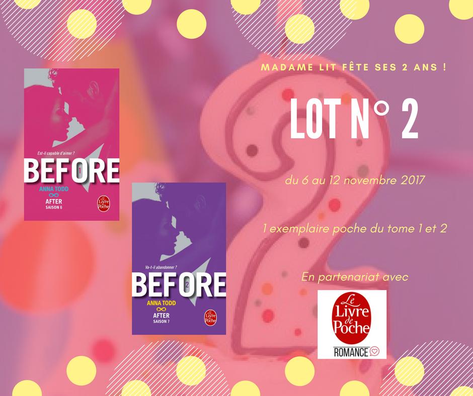Concours anniversaire 2 ans : Lot N° 2