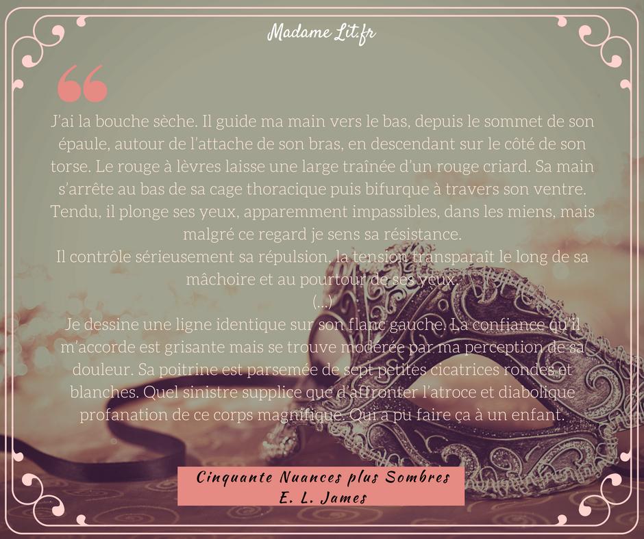 Lecture croisée : Cinquante Nuances plus Sombres, POV Ana...